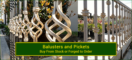 Balusters and Pickets. Wide variety and Excellent Quality from Superior Ornamental Supply.