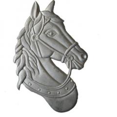 """Horse - 14 5/8"""" x 9 5/8"""" - ACHHEADR"""