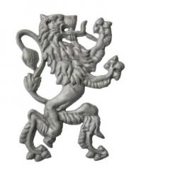 "Lion - 10 5/8"" x 7"" - ACLIONSR"