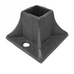 Square Base Flange Cover Shoe Cast Iron - RCFS1