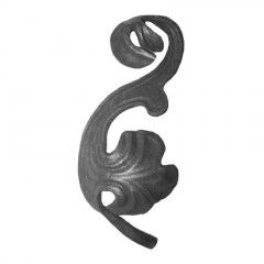Cast Steel Leaves & Ornaments 55-137