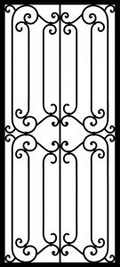 Steel Security Door - Custom_DF_1.5_REG
