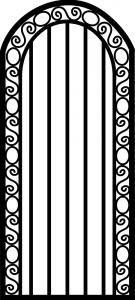 Steel Security Door - Custom_DF_10.0L_REG