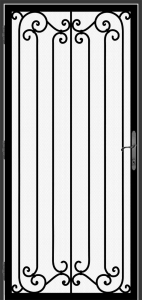 Steel Security Screen Door - DFS_1.0_REG
