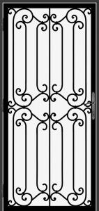 Steel Security Screen Door - DFS_1.5_REG
