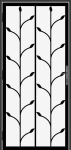 Steel Security Screen Door - DFS_11.0_REG