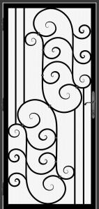 Steel Security Screen Door - DFS_13.0_REG