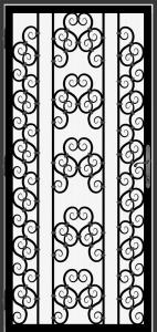 Steel Security Screen Door - DFS_17.0_REG