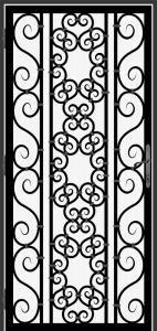 Steel Security Screen Door - DFS_19.0_REG