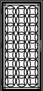 Steel Security Screen Door- DFS_21.0_REG
