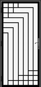 Steel Security Screen Door - DFS_23.0_REG