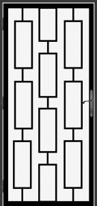 Steel Security Screen Door - DFS_25.0_REG