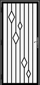 Steel Security Screen Door - DFS_26.0_REG