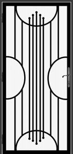 Steel Security Screen Door - DFS_29.0_REG