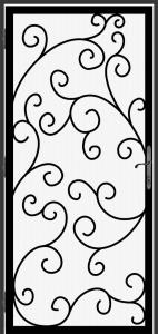 Steel Security Screen Door - DFS_3.0_REG