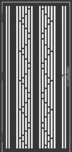 Steel Security Screen Door - DFS_30.0_REG