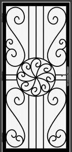 Steel Security Screen Door - DFS_7.0_REG