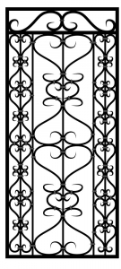 Steel Security Door - Custom_DF_14.0_REG