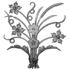 Forged Steel Wrought Iron Scroll Panels 70-638