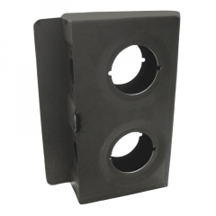 "Lock Box - Keedex Double 2""  Wide - LBDW2"