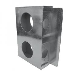 Lock Box - Double Wide Zinc - LBDWZ