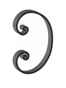 Steel Scrolls SC6182CS - Custom Sizes