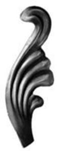Stamped Steel Leaves & Ornaments 56-100