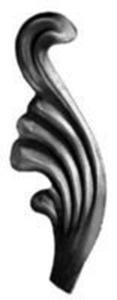 Stamped Steel Leaves & Ornaments 56-102