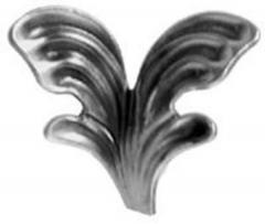 Stamped Steel Leaves & Ornaments 56-110