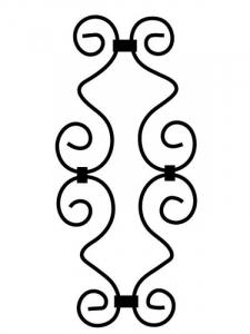 Steel Scroll SS35-1