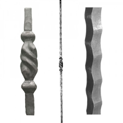 Baluster SUI12704 - With a twisted piece in the middle.