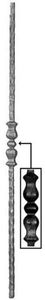 Forged Balusters & Pickets  64-390 - With a decorative detail