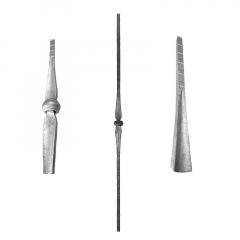 Hammered Pickets SUI64-I-2 - With a single collar.