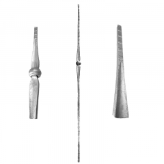 Baluster SUI64-I-3L - With a single collar.