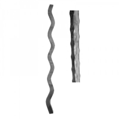 Wave Design Hammered 4 Corners Pickets SUI70-D-1H4C