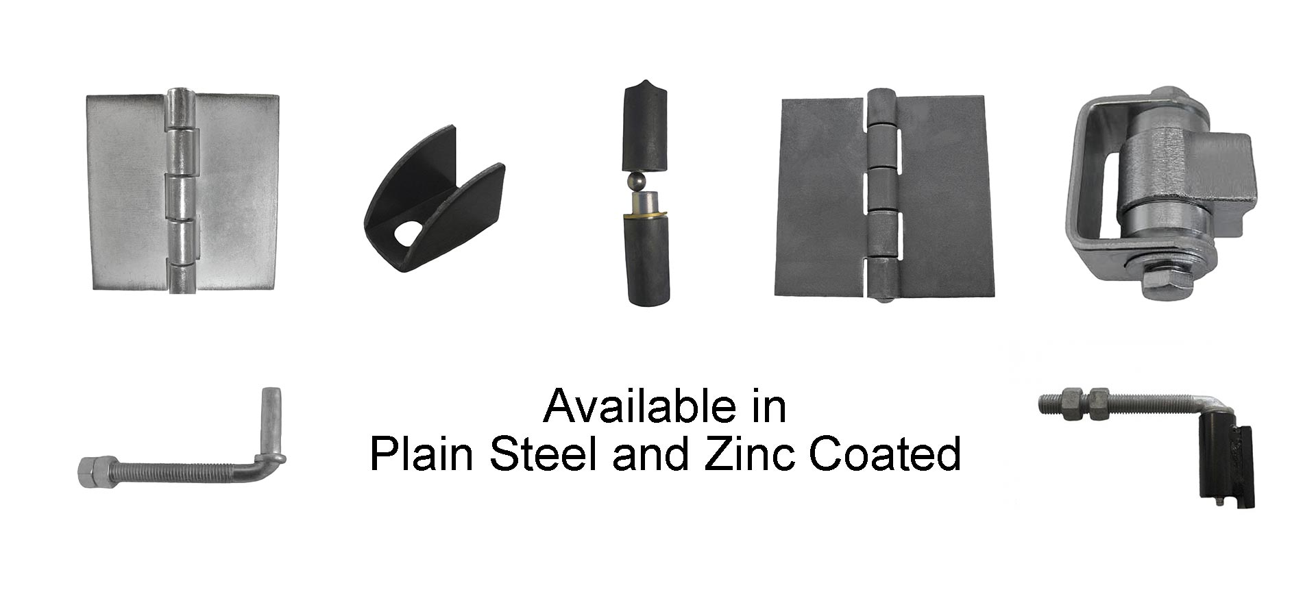 Barrel, Batwing, Butt, Heavy Duty, Zinc Plated, Spring Hinges. Wide variety and Excellent Quality from Superior Ornamental Supply.